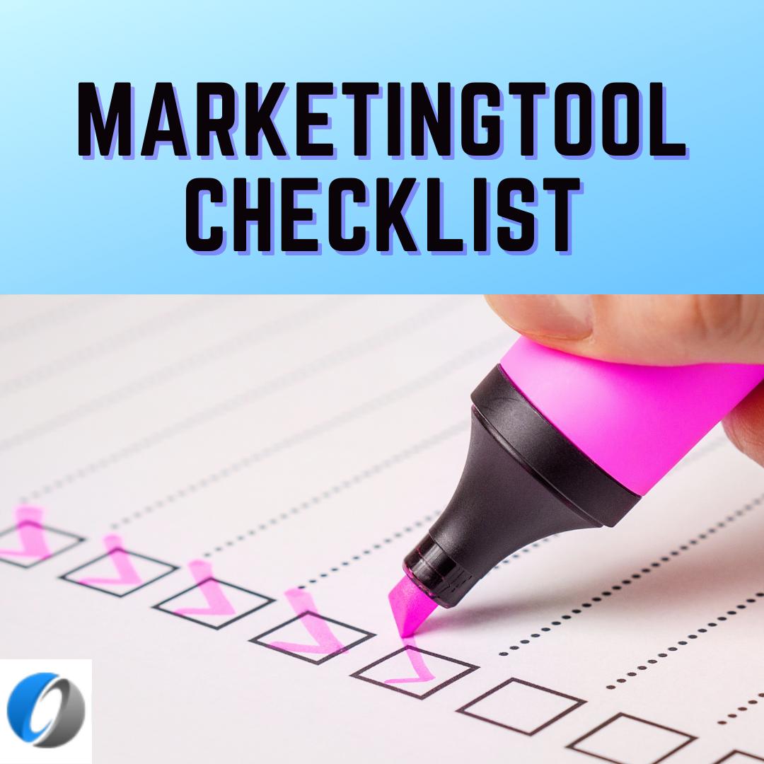 marketingtool checklist